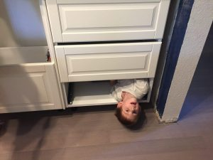 William in the new drawers