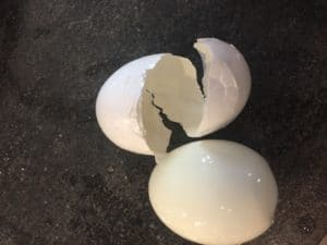 instant pot egg shells