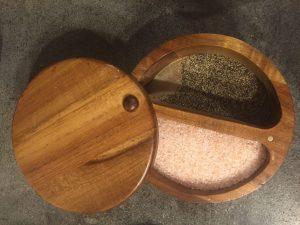 Salt and pepper box