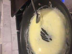 Cooking sugar free sweetened condensed milk