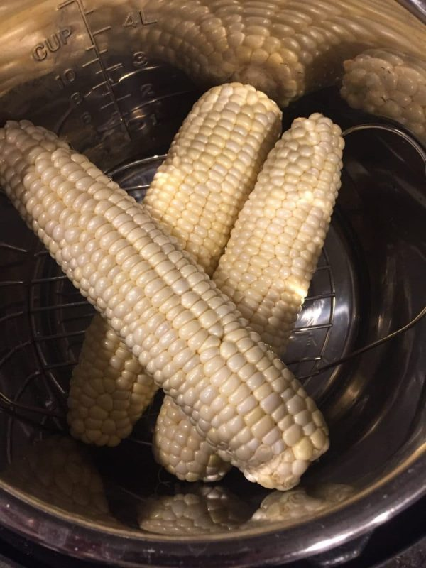 Corn in the Instant pot
