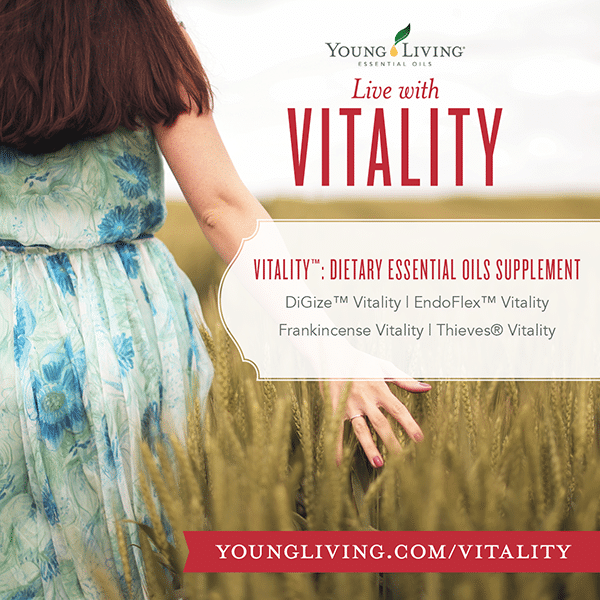 esential oils with young living vitality