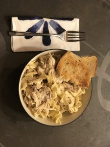Instant pot creamy Italian Chicken and noodles